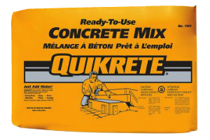 Quikrete concrete mix edmonton pirahna stucco