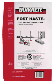 POST HASTE® Concrete Mix Edmonton Piranha Stucco