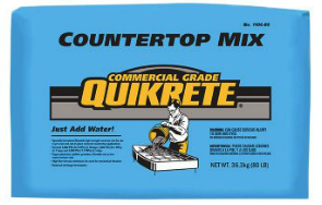 QUIKRETE® Countertop Concrete Mix Pirahna Stucco Edmonton