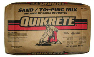 QUIKRETE® Sand/Topping Mix Pirahna Stucco Edmonton