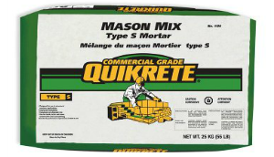 QUIKRETE® Mason Mix (type S Mortar)