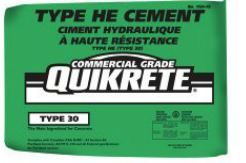 QUIKRETE Type HE High Early Strength Portland Cement Piranha Stucco Edmonton