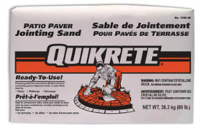 QUIKRETE® Patio Paver Jointing Sand Piranha Stucco Edmonton